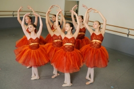 Ballet, Point, Partnering Grace
