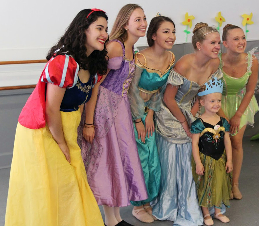 Dance with a all Disney Princess